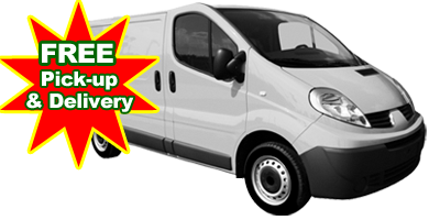 pick up and delivery laundry service